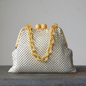 Vintage Whiting & Davis Alumesh Evening Bag